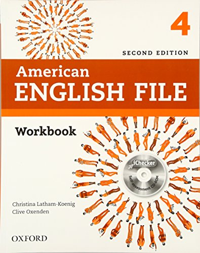 American English File Second Edition: Level 4 Workbook: with iChecker