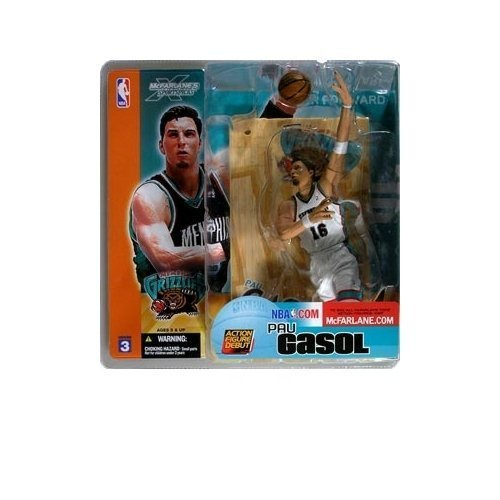 McFarlane Sportspicks: NBA Series 3 Pau Gasol (Chase Variant) Action Figure by Toys
