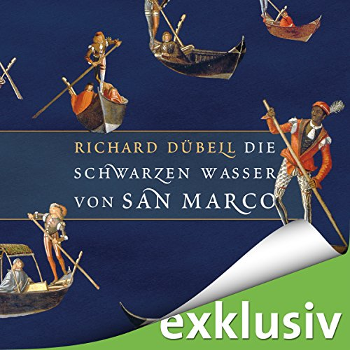 Die schwarzen Wasser von San Marco audiobook cover art
