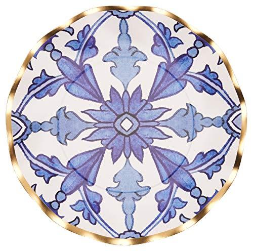 Salatteller, gewellt, marokkanische Nächte, 24 Stück