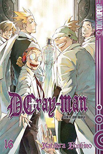 D.Gray-Man 16.