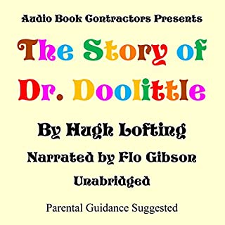 The Story of Dr. Doolittle audiobook cover art