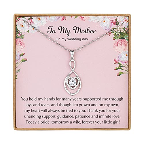 Vanjewnol Mother of the Bride Gifts from Bride Wedding Gifts for Mom...