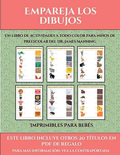 Imprimibles para bebés (Empareja los dibujos): Este libro contiene 30 fichas con actividades a todo color para niños de 4 a 5 años (38)