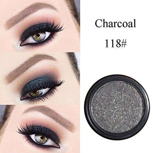 FEITONG Lidschatten, Make-up Metallische Glänzende Augen Lidschatten wasserdichte Glitter...