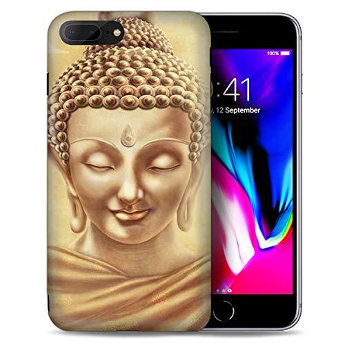 for iPhone 8 Plus, iPhone 7 Plus, Elegant Designed Soft IMD Phone Case Cover, IMD0093 Buddha