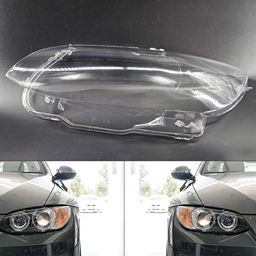 TBVECHI 2pcs Headlight Headlamp Lens Cover for 2006-2010 BMW E92 E93 Coupe M3 328i 335i Left and Right Headlight Clear Lens Cover