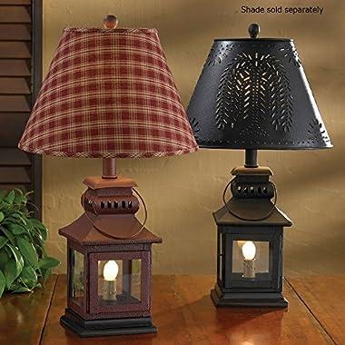 Black Iron Lantern Lamp