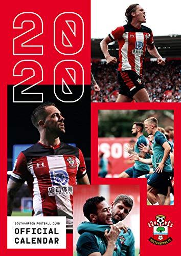 Southampton FC 2020 Calendar - Official A3 Month to View Wall Calendar