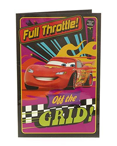 Carlton 501570-0 Disney Cars verjaardagskaart