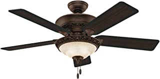 Hunter Fan Company Hunter 53200 Transitional 52``Ceiling Fan from Italian Countryside collection in Bronze/Dark finish, P.A. Cocoa