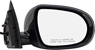 BROCK Side View Mirror for 2016-2018 Kia Sorento Passenger Replacement Heated Signal fits 87620C6080 87620 C6080