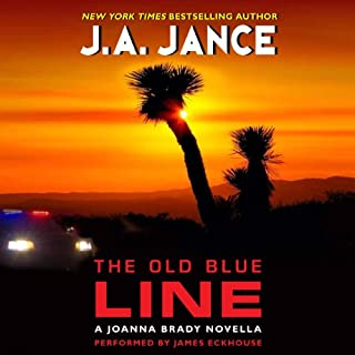 The Old Blue Line audiobook cover art