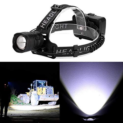 Linterna frontal recargable, carga USB, luz de cabeza LED, linterna frontal portátil para exteriores, para acampar al aire libre, ciclismo, correr, pesca, lámparas de cabeza para adultos