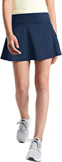 Sponsored Ad - rrhss Girl's Active Skort High Waisted Tennis Skirt Solid Lightweight Running Sport Golf Skorts