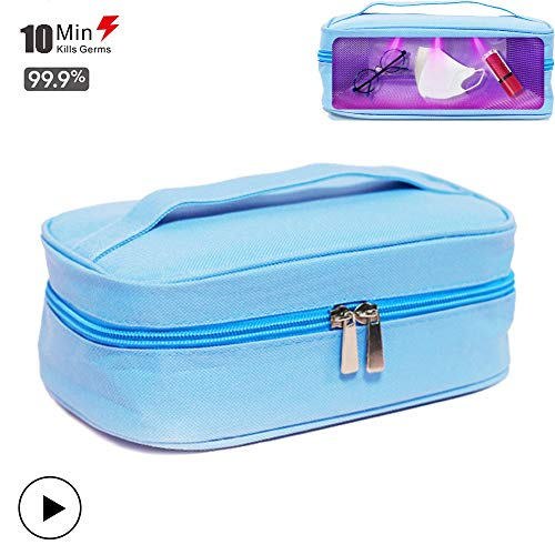 GT-LYD Sterilisator voor flesjes, uv-desinfectiezakje, voor mobiele telefoons, USB, voor flesjes, ondergoed, tandenborstel, schoonheid, gereedschap, sieraden