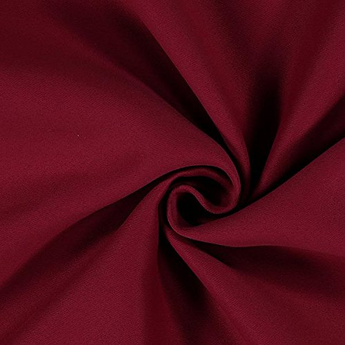 Fabulous Fabrics Black out Soft 19 — Mercancia al Metro a Partir de 0,5m — para Coser de Almohadas, Mantas y Colgaduras