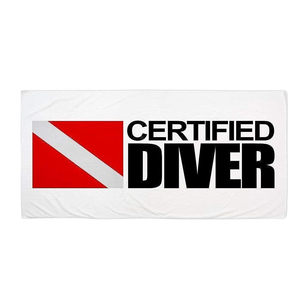 Certified Diver Beach TowelLarge Beach Towel, Soft 31