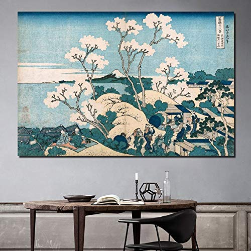 Berühmte Maler Tapete Kunst Leinwand Bild Poster modernes Bild Wohnzimmer Dekoration Home Art,Rahmenlose Malerei,30x45cm