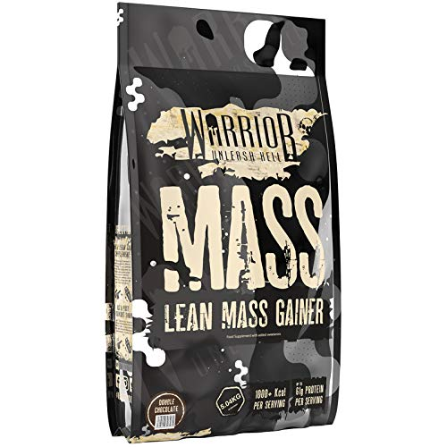 Warrior Mass, Lean Muscle Weight Gainer, Double Chocolate, 5kg