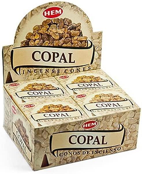 Hem Copal Cones Incense 4 Packs 10 Cones Per Pack