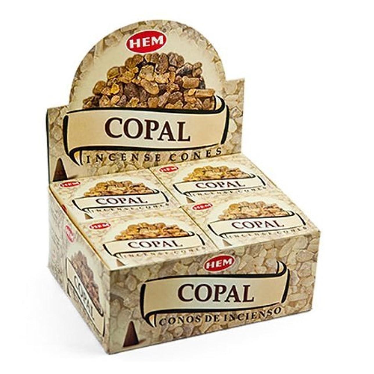 ブランクペインティング宝石裾Copal Cones Incense?–?4パック、10?Cones 1パック