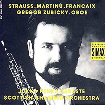 Strauss/ Martinu/ Francaix: Concertos