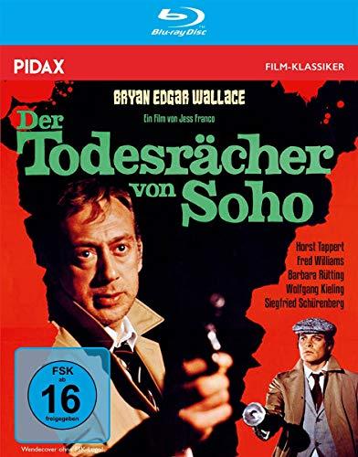 Bryan Edgar Wallace: Der Todesrächer von Soho / Spannender Gruselkrimi mit Starbesetzung + Bonusmaterial (Pidax Film-Klassiker) [Blu-ray]