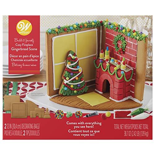Wilton Build-it-Yourself Gingerbread Scene Decorating Kit