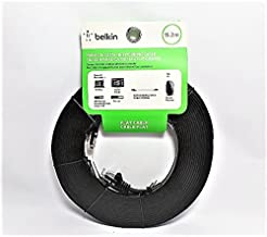 Belkin Premium CAT5e Networking 50 ft Flat Cable in Black