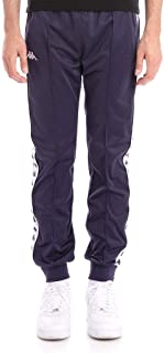 Kappa 222 Banda Rastoriazz Pants - Blue Marine/White - LG