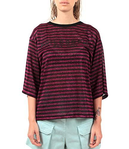 Philosophy di Lorenzo Serafini T-Shirt a Righe in Lurex Donna Mod. AA0715...