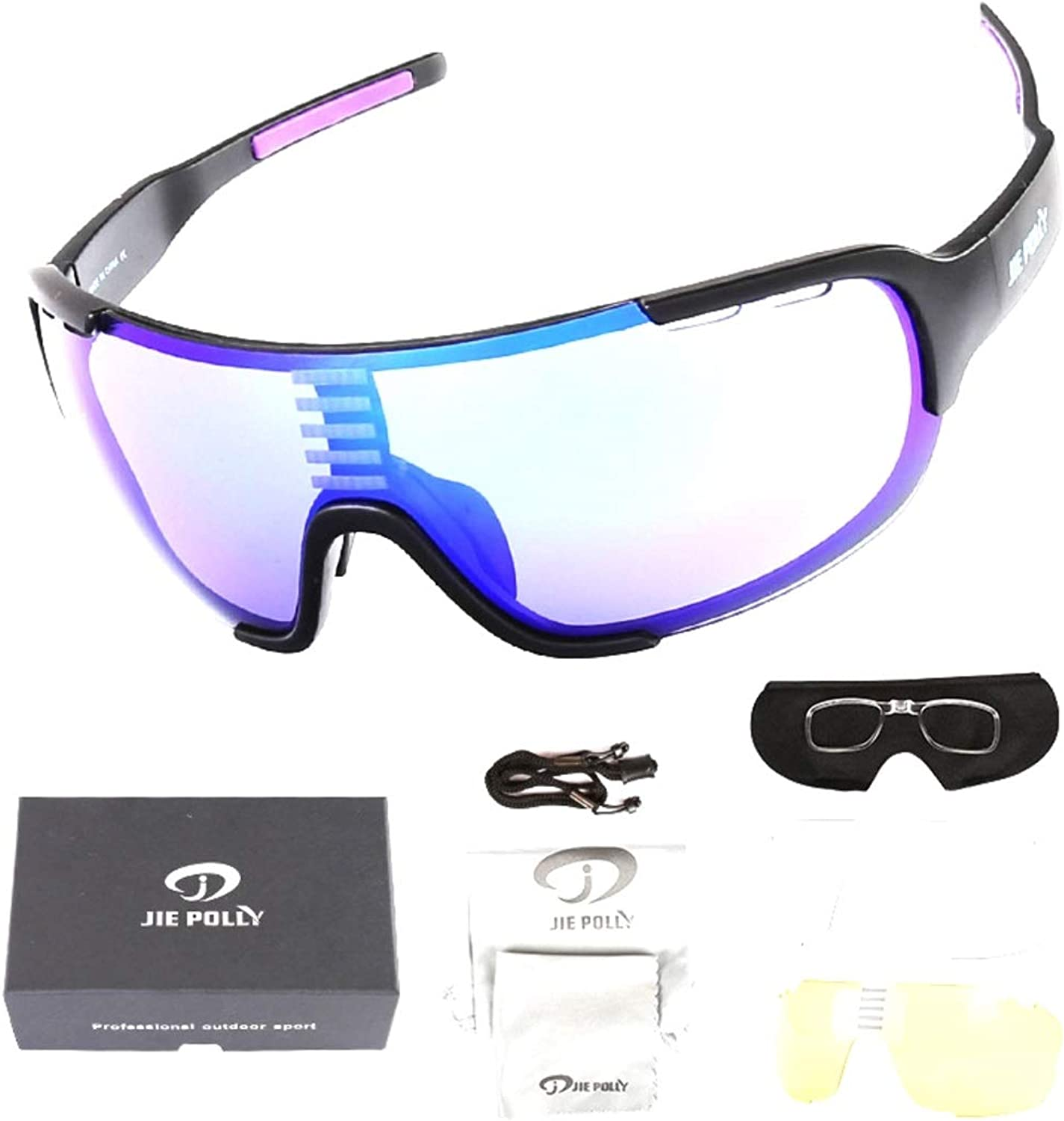 Souliyan Mountain Bike color Changing Cycling Glasses Bicycle Sports