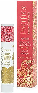 Pacifica Color Quench Lip Tint Blood Orange