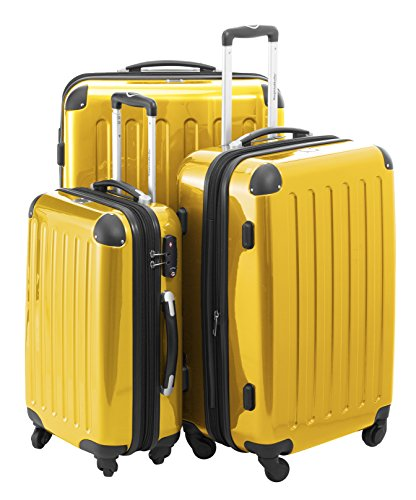 Hauptstandtkoffer Set di valigie, 75 cm, 235 L, Giallo