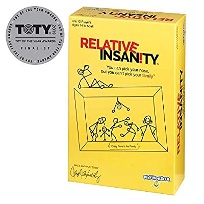 Relative Insanity Party Game About Crazy Relatives -- Made & played by Comedian Jeff Foxworthy