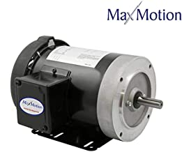 Marathon G582 56C Frame General Purpose Motor, 3 Phase Inverter Duty, 10:1 Constant Torque, Rolled Steel, Totally Enclosed Fan Cooled, 2.6-3.0/1.5 amp, 3/4 hp, 1800 RPM, 208-230/460V