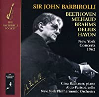 New York Concerts 1962-Brahms Beethoven Milhaud
