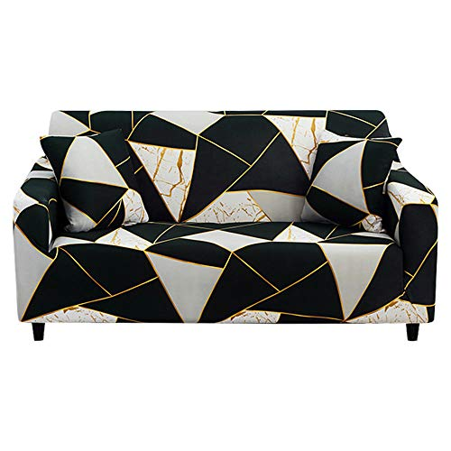 HXTSWGS Couchhusse Wohnzimmer,Sofa Cover, Spandex Elastic Polyester1/2/3/4 Seater Couch,Slipcover Chair Living Room Furniture Protector-B3_4seats 235-310cm