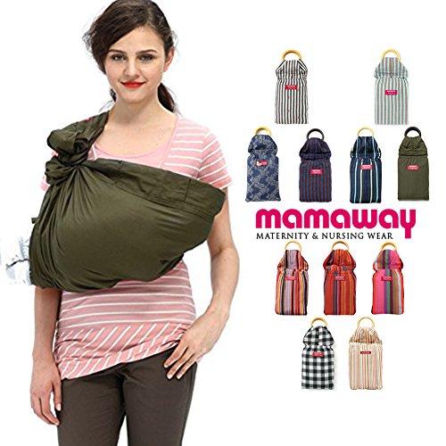 Mamaway Baby Ring Sling - Army Khaki   Amazon