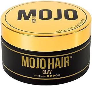 MOJO HAIR Clay for Men 100ml - 100ミリリットル男性のためのモジョの毛の粘土 [並行輸入品]