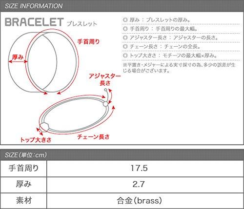 QueCera(ケ・セラ)『Creamdot.(クリームドット)MetalBracelet』