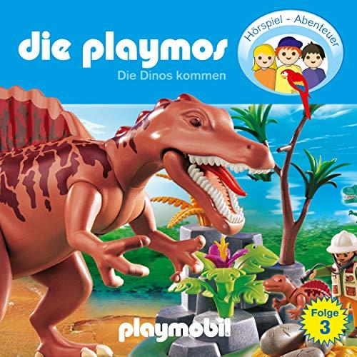 Die Dinos kommen. Das Original Playmobil Hörspiel Titelbild