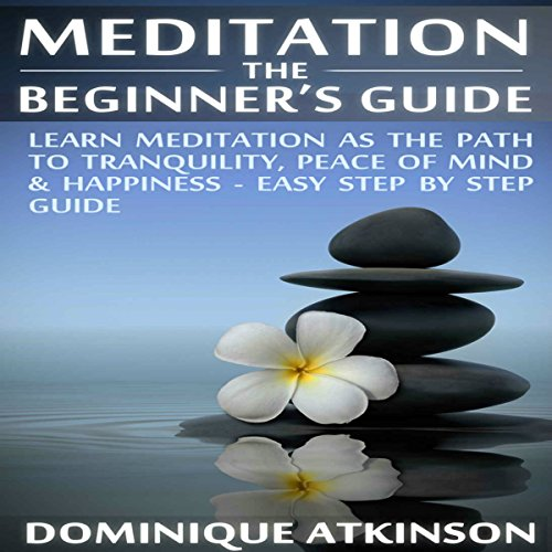Meditation: The Beginner's Guide audiobook cover art