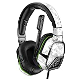 MightySkins Skin Compatible with PDP Xbox One Afterglow LVL 3 Headset - Viper Snow   Protective, Durable, and Unique Vinyl wrap Cover   Easy to Apply, Remove, and Change Styles   Made in The USA