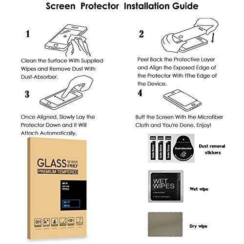 [2 Stück] PULEN Panzerglas Schutzfolie für Lenovo Tab M10 Full HD Plus [9H Härte][Anti-Kratzen] [Anti-Bubble][Anti-Fingerabdruck][HD] Klar folie
