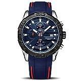 Voigoo Mode Chronograph Sport-Mann-Uhr Relogio Masculino Marke Silikon-Armee Militäruhr Male Uhr-Quarz-Armbanduhr