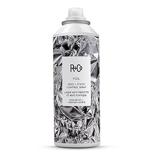R+Co Foil Frizz and Static Control Spray, Eliminates Frizz and Smoothes Hair, 5 Fl Oz