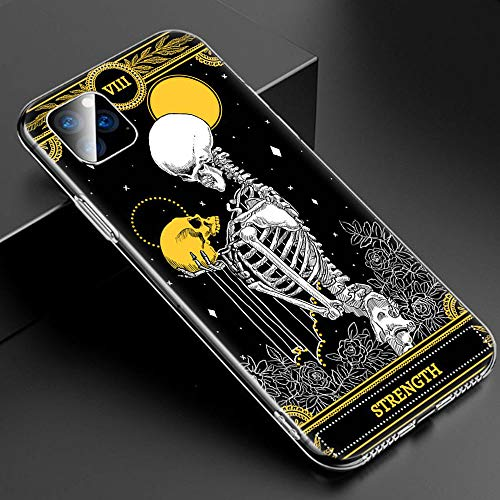 Inspired by Tarot Cards Phone Case Compatible With Iphone 7 XR 6s Plus 6 X 8 9 11 Cases Pro XS Max Clear Iphones Cases TPU- Ukiyoe- Non-ToxicSilicone- Animal- Vaporesso- 4000282287447