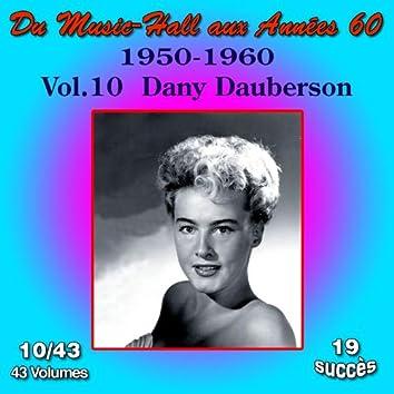 Du Music-Hall aux Années 60 (1950-1960): Dany Dauberson, Vol. 10/43